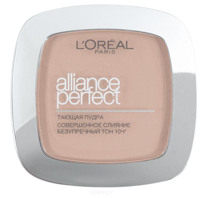 L'Oreal, Пудра Alliance Perfect Совершенное слияние, 9 гр (6 оттенков) D3 светло-бежевый совершенное здоровье