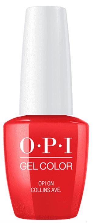 OPI, Гель-лак GelColor, 15 мл (199 цветов) OPI On Collins Ave / Classics opi гель лак gelcolor 15 мл 95 цветов opi by popular vote
