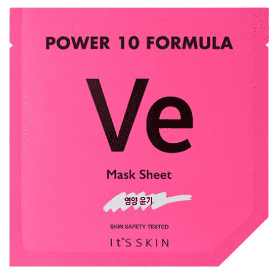 Купить It's Skin, Power 10 Formula Mask Sheet VE Тканевая маска питательная, 25 мл