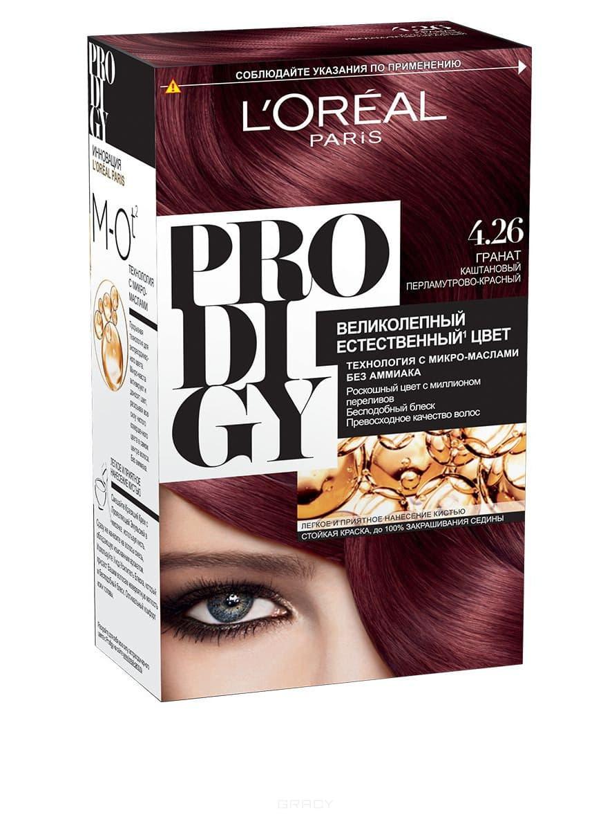LOreal, Краска для волос Prodigy (23 оттенка), 265 мл 4.26 ГранатОкрашивание<br><br>