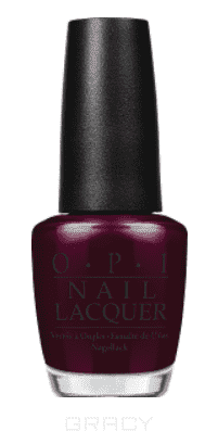 OPI, Лак для ногтей Classic, 15 мл (156 цветов) Midnight In Moscow opi лак для ногтей nail lacquer nutcracker 2018 15 мл 15 цветов toying with trouble