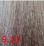 Купить Kaaral, Крем-краска для волос Baco Permament Haircolor, 100 мл (106 оттенков) 9.10 очень светлый пепельный блондин