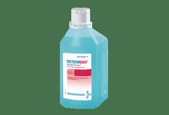Октениман готовый антисептик, 1 лГотовый к применению антисептик для хирургической и гигиенической дезинфекции рук.<br>