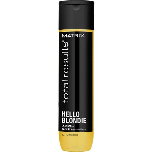 Matrix, Кондиционер для сияния светлых волос Total Results Hello Blondie Conditioner, 300 млКондиционеры и бальзамы<br><br>