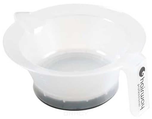 Чаша для краски с руч./нос. резин дно 135 мм (2 цвета)Пластик&#13;<br>С ручкой&#13;<br>&#13;<br>Прорезиненное дно&#13;<br>&#13;<br>d 135 мм&#13;<br>&#13;<br>Цвет: белый, серый<br>