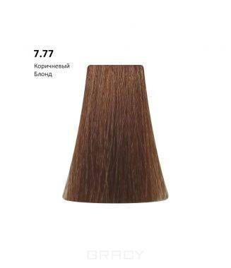 Купить BB One, Перманентная крем-краска Picasso Colour Range без аммиака (76 оттенков) 7.77Brown Blond/Коричневый Блондин