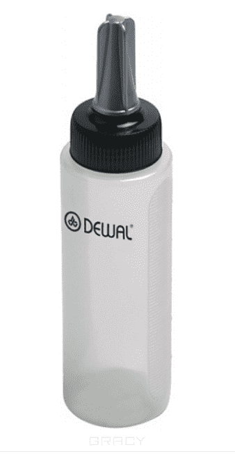 Dewal, Аппликатор белый с черной крышкой, 150 мл dewal аппликатор белый 210 мл