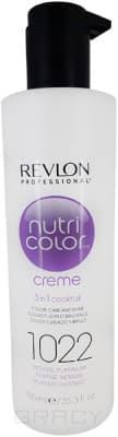 Revlon, Крем-краска для волос 3 в 1 Nutri Color Creme, (52 оттенка) 1022 Интенсивный платинум колесные диски кик fencer кс730 10 7x16 5x114 3 d67 1 et45 блэк платинум