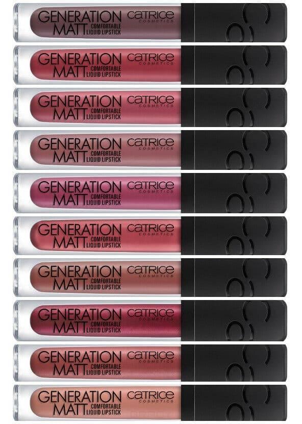 Жидкая матовая помада для губ Generation Matt Comfortable Liquid Lipstick (10 оттенков) стойкая жидкая матовая помада с матовым финишем essence colour boost mad about matte liquid lipstick