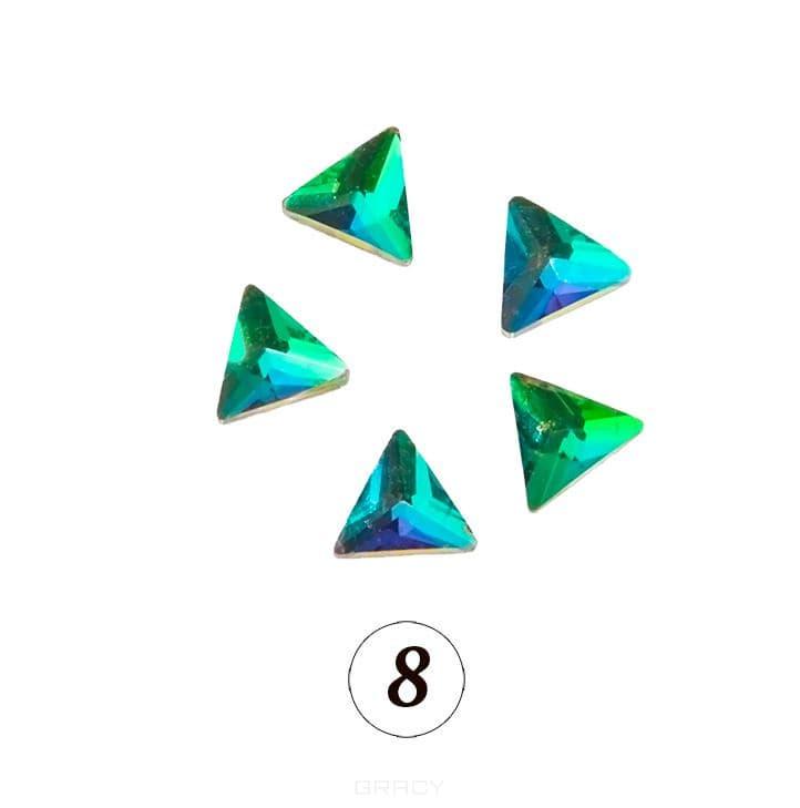 Planet Nails, Цветные фигурные стразы в ассортименте (76 видов), 5 шт/уп Планет Нейлс №8
