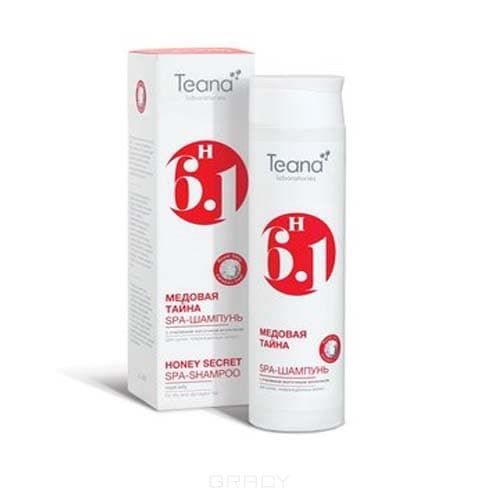 Teana, СПА-шампунь с пчелиным маточным молочком