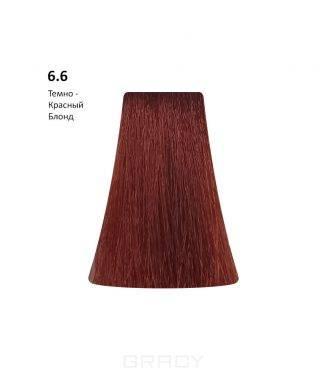 Купить BB One, Перманентная крем-краска Picasso Colour Range без аммиака (76 оттенков) 6.6Dark Red Blond/Темно - Красный Блондин