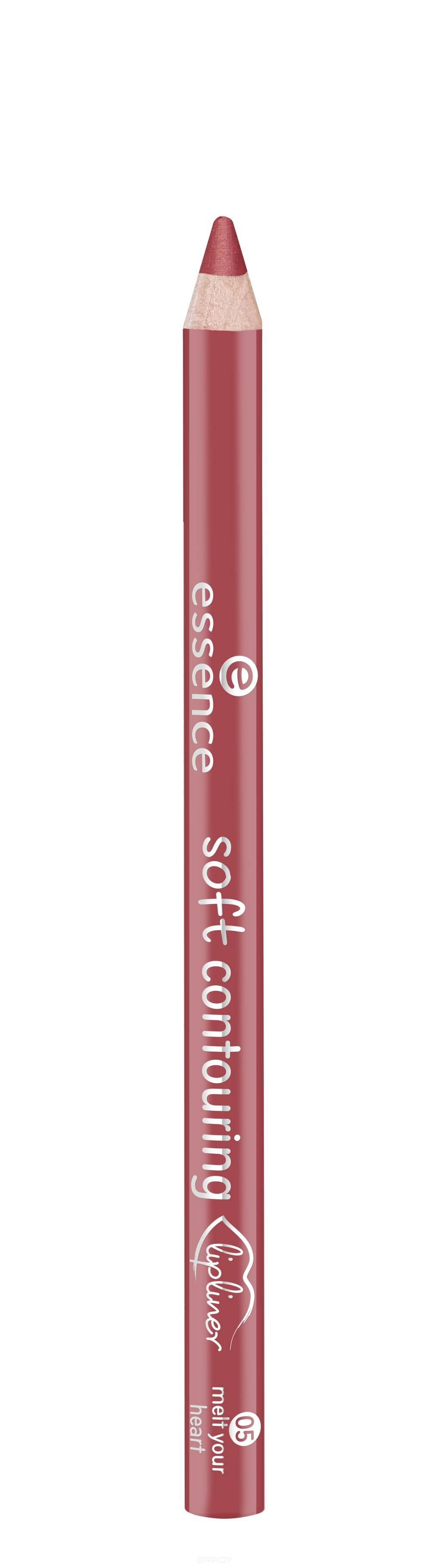 Купить Essence, Контур для губ Soft Contouring Lipliner (11 тонов) №05, коричнево-красный