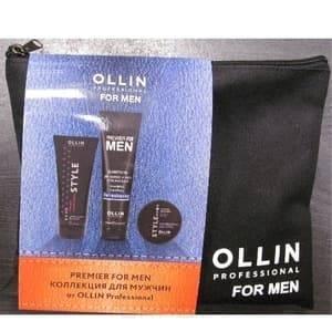 OLLIN Professional, Набор Шампунь для волос и тела 250 мл + Воск для волос 50 г + Гель для укладки 200 млPremier for Men - новая линия для мужчин<br><br>