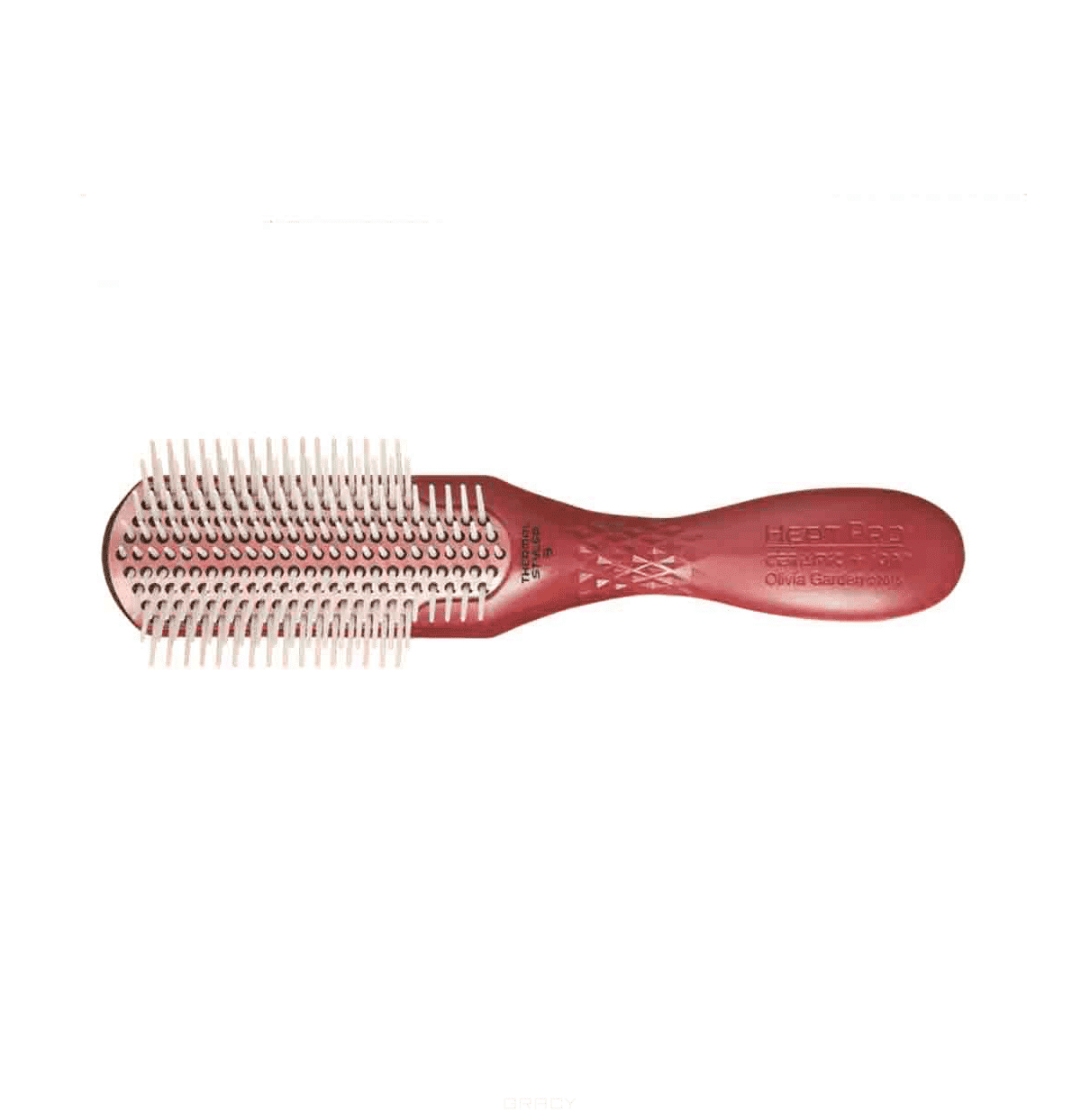 Olivia Garden, Щетка Heat Pro Ceramic+ ион 9 рдов BR-HP1PC-ST9RWРасчески и щетки<br><br>