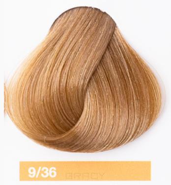 Купить Lakme, Перманентная крем-краска для волос без аммиака Chroma, 60 мл (54 тона) 9/36 Светлый блондин золотисто-коричневый