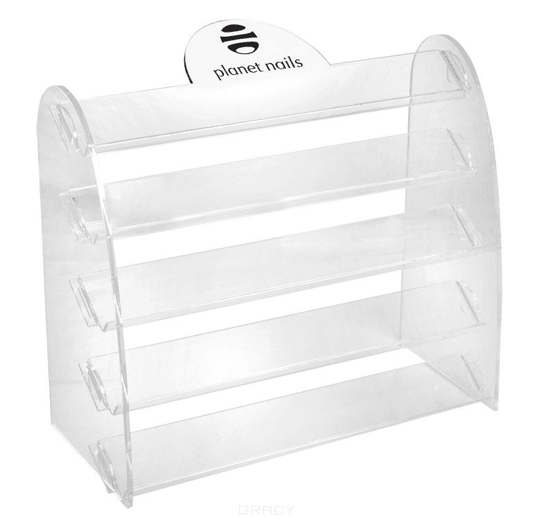 Купить Planet Nails, Подставка для лаков с логотипом 5 ярусов 28х24 см