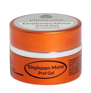 Planet Nails, Гель Einphasen Mono Prof Gel моделирующий однофазный гель, 5 г
