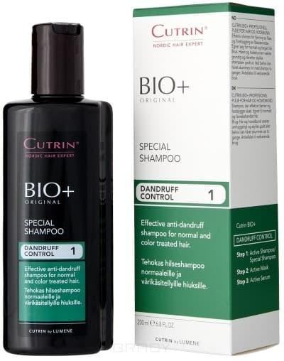 Cutrin, Специальный шампунь против перхоти Dandruff Control Special Shampoo, 200 млCutrin BIO+ решение проблем волос и кожи головы<br><br>