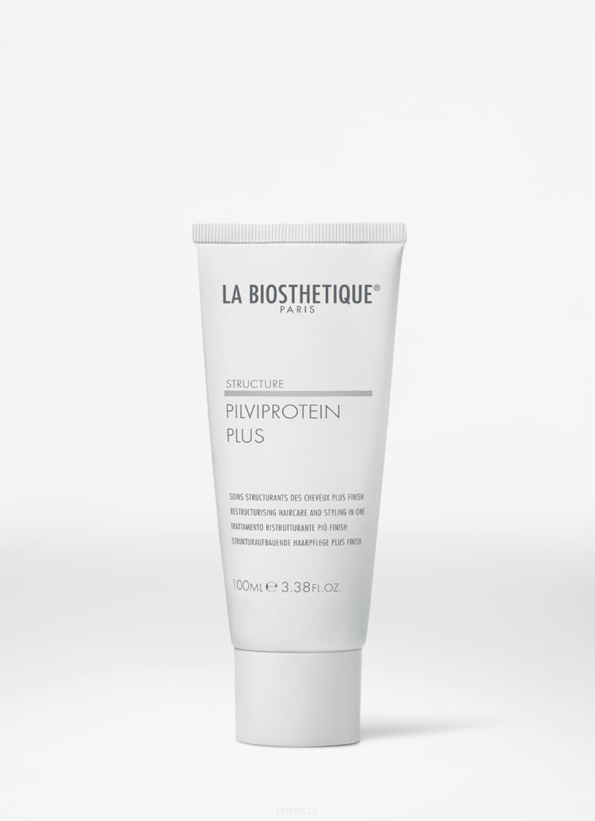 La Biosthetique, Гель-уход для поврежденных волос с эффектом стайлинга Structure Pilviprotein Plus, 100 мл la biosthetique methode le gel douche sondergrosse гель для стайлинга с экстрасильной фиксацией 100 мл