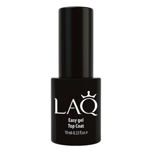 LAQ, Верхнее покрытие для гель-лака Easy Gel Top Coat, 10 мл цена
