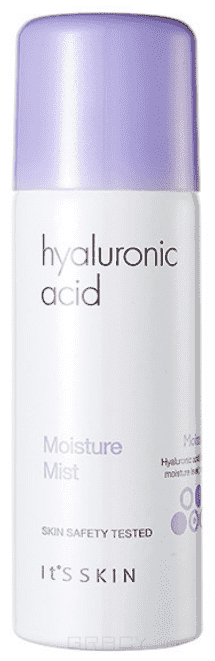 It's Skin, Увлажняющий мист с гиалуроновой кислотой Hyaluronic Acid Moisture Mist, 70 мл крем для век it s skin hyaluronic acid moisture eye cream