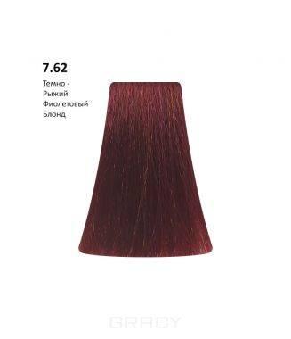 Купить BB One, Перманентная крем-краска Picasso (153 оттенка) 7.62 Auburn Violet Blond/Темно-Рыжий Фиолетовый Блондин