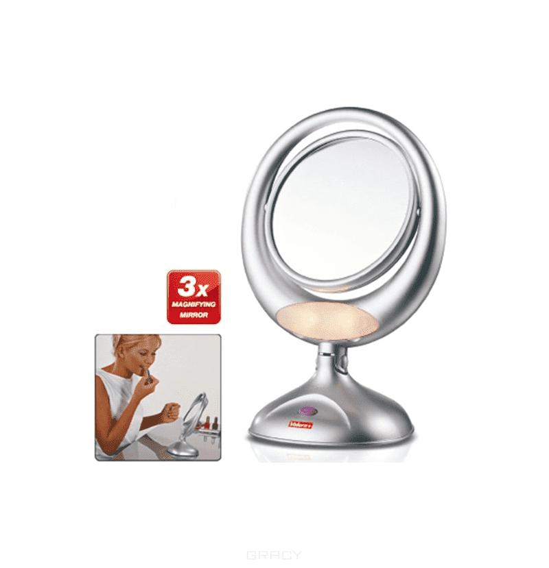 Зеркало с трёхкратным увеличением и подсветкой (на батарейках) 618.01