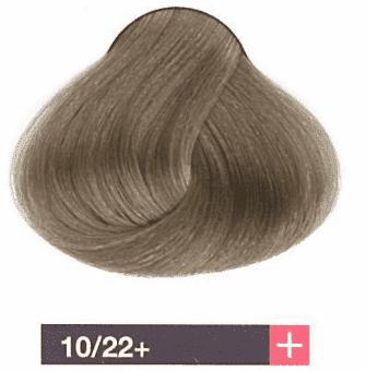 Lakme, Перманентная крем-краска Collage, 60 мл (99 оттенков) 10/22+ Очень светлый блондин интенсивный фиолетовый яркий lakme перманентная крем краска collage 60 мл 99 оттенков 9 33 светлый блондин интенсивный золотистый яркий