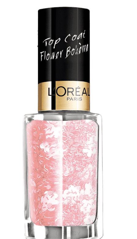LOreal, Верхнее покрытие для ногтей Top Coat, 5 мл (13 оттенков) 937 В стиле бохоЦветные лаки для ногтей<br><br>