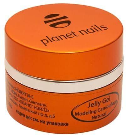 Planet Nails, Гель-желе Modeling Camouflage Natural Jelly Gel, камуфлирующий, натуральный Планет Нейлс, 30 гр тайна трех планет 2019 01 07t11 30