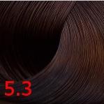 Купить Kaaral, Стойкая крем-краска для волос ААА Hair Cream Colourant, 100 мл (93 оттенка) 5.3 светлый золотистый каштан