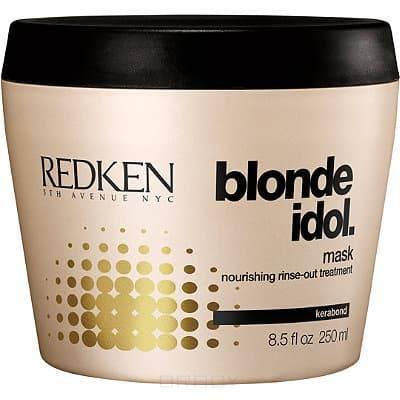 Redken, Маска для светлых натуральных и окрашенных волос Blonde Idol Mask, 250 млМаски<br><br>