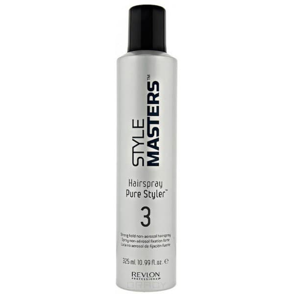 Купить Revlon, Профессиональный лак для волос неаэрозольный сильной фиксации Hairspray Pure Styler, 325 мл