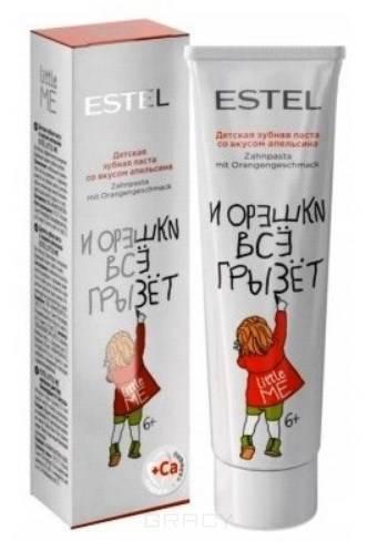 Estel, Little Me Детская зубная паста со вкусом апельсина Эстель Toothpaste Orange, 50 мл estel little me детская зубная паста со вкусом апельсина 50 мл