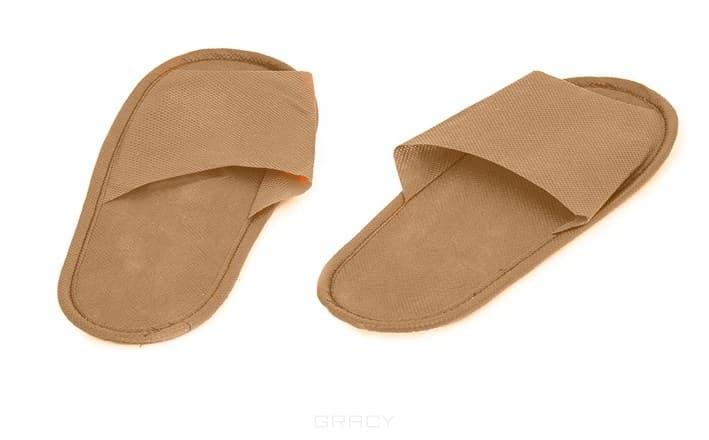 Igrobeauty, Тапочки на жесткой подошве открытые ЭВА (3 цвета) Тапочки на жесткой подошве открытые ЭВА igrobeauty тапочки махровые открытый мыс белые на нескользящей подошве спанбонд очка