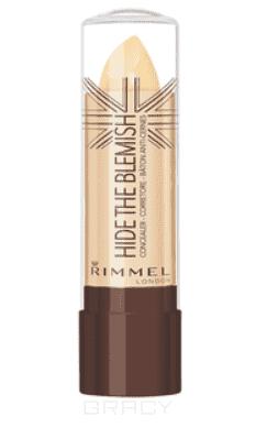 Rimmel, Корректирующий карандаш Hide The Blemish, 90 гр (3 оттенка) rimmel корректирующий карандаш hide the blemish 004 тон 5 2 мл