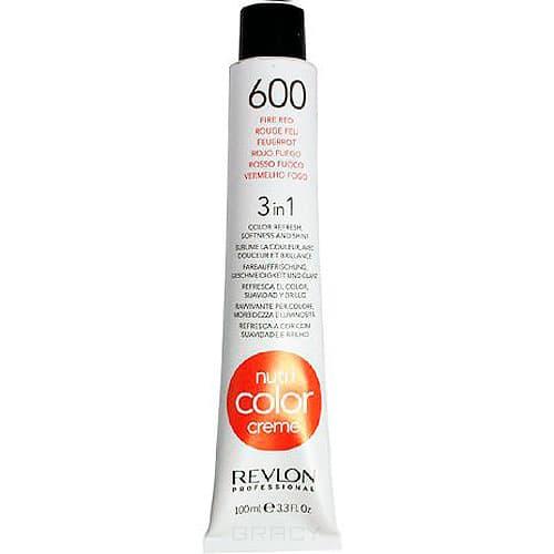 Revlon, Крем-краска для волос 3 в 1 Nutri Color Creme, (52 оттенка) 600 Огненно красный краска для волос колор кроссворд 5 букв