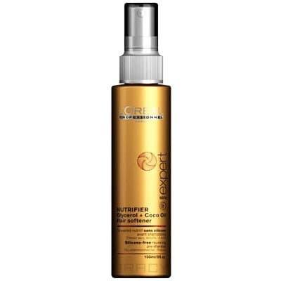 Питательный шампунь без силиконов для сухих и поврежденных волос Shampoo Nutrifier Serie Expert крем для кончиков волос serie expert nutrifier 40 мл