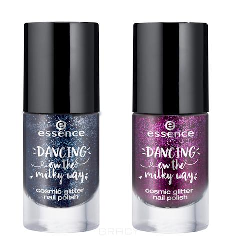 Купить Essence, Лак для ногтей Dancing on the Milky Way Cosmic Glitter Nail Polish (2 оттенка), №02 Milky Way