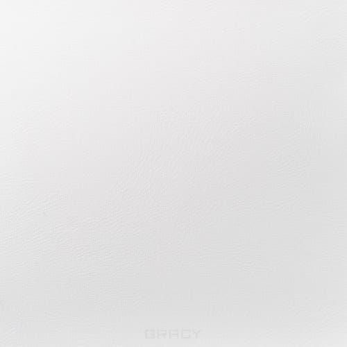 Имидж Мастер, Пуф для салона красоты со спинкой Диалог Модуль №1 (48 цветов) Белый 9001