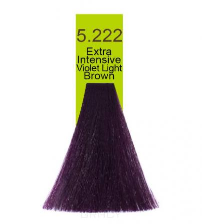 Macadamia Natural Oil, Краска для волос Oil Cream Color, 100 мл (97 тонов) 5.222 Экстра яркий радужный светло каштановый  - Купить