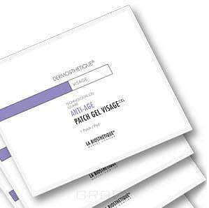 La Biosthetique, Клеточно-активный гидрогель для лифтинга и разглаживания морщин Dermosthetique Anti-Age Patch Gel Visage, 6 шт/уп недорого