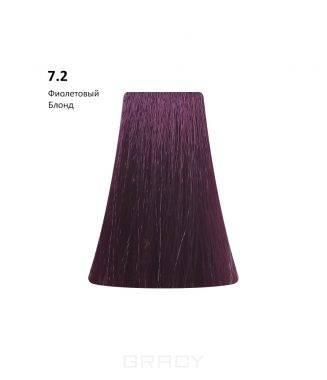Купить BB One, Перманентная крем-краска Picasso (153 оттенка) 7.2Violet Blond Фиолетовый Блондин
