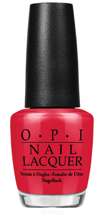 OPI, Лак для ногтей Nail Lacquer, 15 мл (293 цвета) An Affair In Red Square / Classics