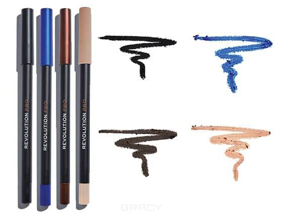 Контур для век Supreme Pigment Gel Eyeliner (4 оттенка) карандаш для глаз supreme pigment gel eyeliner 2 8г nude