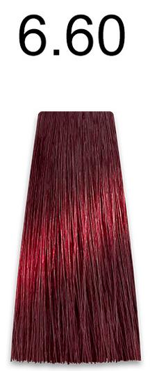 Купить Kaaral, Стойкая безаммиачная крем-краска с гидролизатами шелка Baco Soft Ammonia Free, 60 мл (42 оттенка) 6.60 темный красный блондин