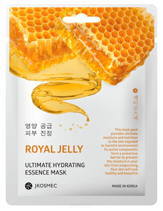 Купить Jkosmec, Ежедневная увлажняющая маска с экстрактом прополиса Royall Jelly Ultimate Hydrating Essence Mask, 25 мл