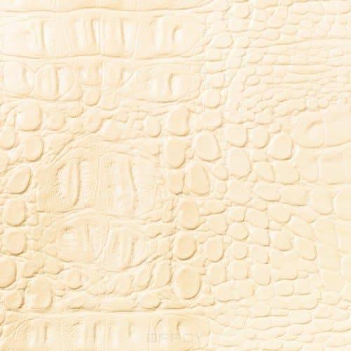 Купить Имидж Мастер, Парикмахерское кресло БРАЙТОН декор, гидравлика, пятилучье - хром (49 цветов) Слоновая кость (крокодил) 2380