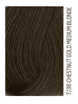 Lakme, Перманентная крем-краска для волос без аммиака Chroma, 60 мл (32 тона) 7/36 Средний блондин золотисто-коричневый lakme перманентная крем краска для волос без аммиака chroma 60 мл 32 тона 9 60 светлый блондин коричневый 60 мл
